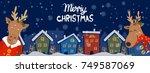cartoon illustration banner for ... | Shutterstock .eps vector #749587069