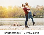 all i need is you. horizontal... | Shutterstock . vector #749621545