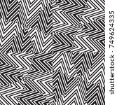 geometric seamless pattern.... | Shutterstock .eps vector #749624335