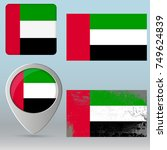 """united arab emirates""  uae... | Shutterstock .eps vector #749624839"