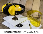 shooting  pneumatic and...   Shutterstock . vector #749637571