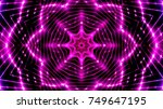 party lights background | Shutterstock . vector #749647195
