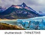 patagonian province of santa... | Shutterstock . vector #749657545