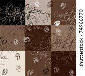 seamless background pattern.... | Shutterstock .eps vector #74966770