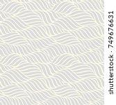 seamless abstract grey... | Shutterstock .eps vector #749676631