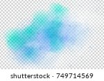 vector realistic isolated... | Shutterstock .eps vector #749714569
