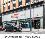 london  october 2017. an... | Shutterstock . vector #749756911