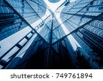 perspective view of... | Shutterstock . vector #749761894