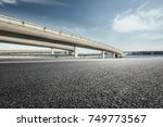 Asphalt Road And Highway Bridge ...