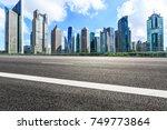 shanghai lujiazui financial... | Shutterstock . vector #749773864