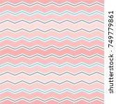 multi chevron seamless... | Shutterstock .eps vector #749779861