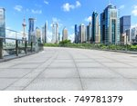 city square and commercial...   Shutterstock . vector #749781379