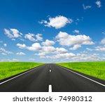 road ahead | Shutterstock . vector #74980312