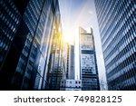 modern business center | Shutterstock . vector #749828125