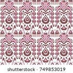 design for oriental cloth ... | Shutterstock . vector #749853019