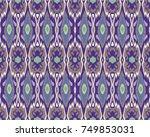 design for oriental cloth ... | Shutterstock . vector #749853031