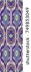 design for oriental cloth ... | Shutterstock . vector #749853049