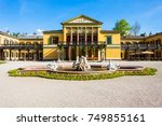 kaiservilla in bad ischl ... | Shutterstock . vector #749855161