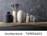 home decor   various neutral... | Shutterstock . vector #749856601