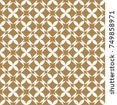 seamless geometric background.... | Shutterstock .eps vector #749858971