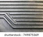 truck liner texture. | Shutterstock . vector #749875369