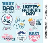 Happy Father's Day Font Graphic