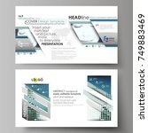 business templates in hd format ... | Shutterstock .eps vector #749883469