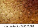 dark brown vector blurry... | Shutterstock .eps vector #749905381