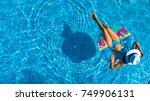 aerial top view of beautiful... | Shutterstock . vector #749906131