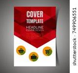 vector illustration of  report... | Shutterstock .eps vector #749906551