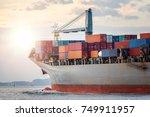 Logistics Import Export Concept ...
