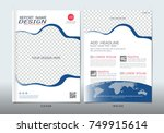 covers design with space for... | Shutterstock .eps vector #749915614
