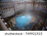 noboribetsu jigokudani or hell... | Shutterstock . vector #749921515