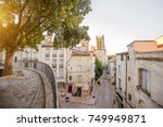 street view with saint pierre... | Shutterstock . vector #749949871