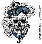 skull | Shutterstock .eps vector #749962594