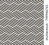 vector seamless pattern. modern ... | Shutterstock .eps vector #749966761