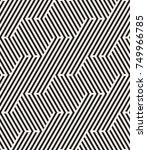 vector seamless pattern. modern ...   Shutterstock .eps vector #749966785