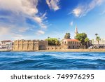 Small photo of Beautiful view of the castle of Larnaca, on the island of Cyprus