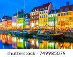copenhagen  denmark  august 20  ... | Shutterstock . vector #749985079