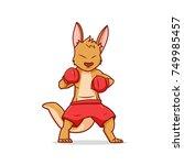 Boxing Kangaroo  Character...