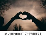 love. couple in love.focus on... | Shutterstock . vector #749985535