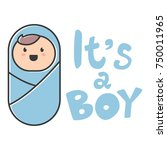 """it's a boy"". baby shower... 
