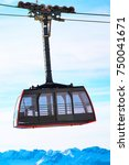 Cable Car  France Close Up An...