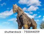 canakkale  turkey   july 21 ... | Shutterstock . vector #750044059