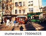 geneva  switzerland   january...   Shutterstock . vector #750046525