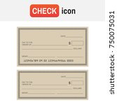 check template bank. blank... | Shutterstock . vector #750075031