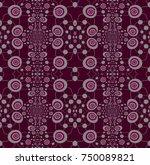 abstract geometric seamless... | Shutterstock . vector #750089821