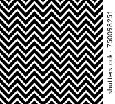 black and white chevron | Shutterstock .eps vector #750098251