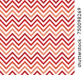 chevron background with red... | Shutterstock .eps vector #750098269