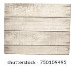 old wood signboard or shield... | Shutterstock . vector #750109495
